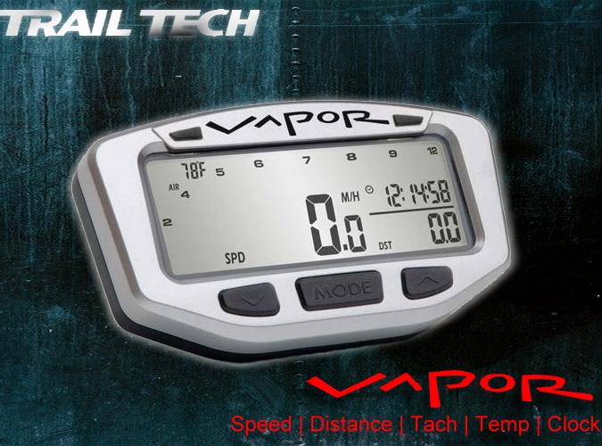 trailtech vapor tachometer yamaha yfm 700r raptor 39 06 39 14. Black Bedroom Furniture Sets. Home Design Ideas