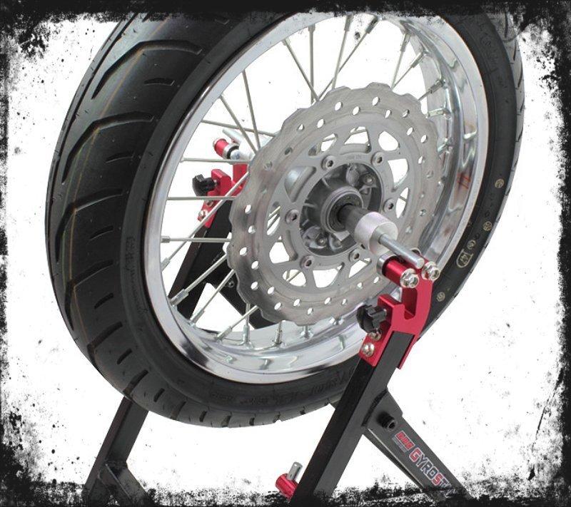 drc gyro stand motorrad r der wuchten und zentrieren atvx24. Black Bedroom Furniture Sets. Home Design Ideas
